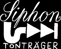 + + +  Siphon Tonträger  + + +  Aus dem Abfluss direkt ins Ohr – yummy!  + + +